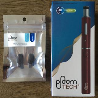 プルームテック(PloomTECH)のJT Ploom Tech+ マウスピース2個付(タバコグッズ)