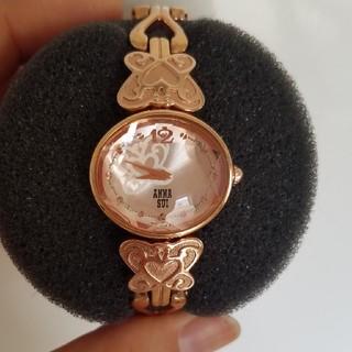 アナスイ(ANNA SUI)のアナスイ ANNA SUI ピンクゴールド 腕時計 美品(腕時計)
