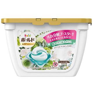 ピーアンドジー(P&G)のボールド ジェルボール 香りつき 洗濯洗剤 グリーンガーデン&ミュゲ (洗剤/柔軟剤)