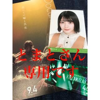 欅坂46(けやき坂46) - 欅坂46 映画 ムビチケ 森田ひかる 生写真付き