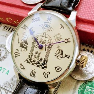オメガ(OMEGA)の#755【OH済の美品】メンズ 腕時計 動作良好 オメガ 懐中時計 アンティーク(腕時計(アナログ))