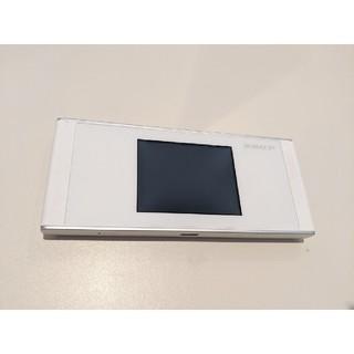 HUAWEI TECHNOLOGIES W05 ホワイト × シルバー