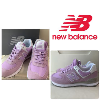 New Balance - 美品 ニューバランス 574 バイオレット スニーカー