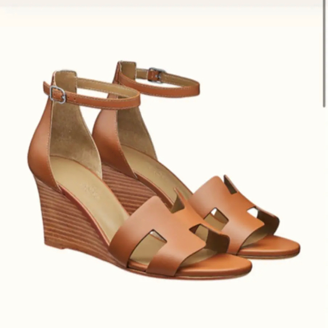 Hermes(エルメス)のエルメス  レジェンド 36ブラウン レディースの靴/シューズ(サンダル)の商品写真
