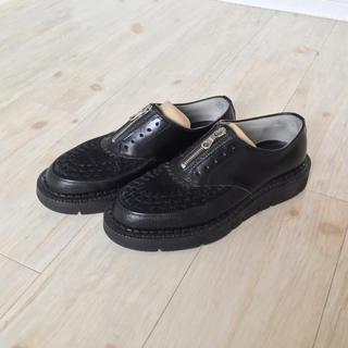 フットザコーチャー(foot the coacher)の美品 CHAOS FRONT ZIP フットザコーチャー(ブーツ)