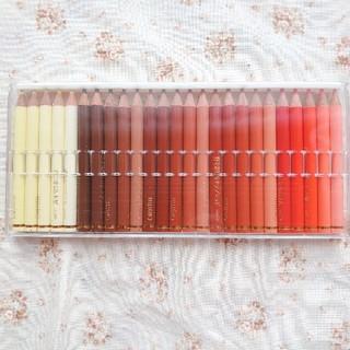 フェリシモ(FELISSIMO)の色鉛筆 フェリシモ カラーミュージアム 25色 E(色鉛筆)