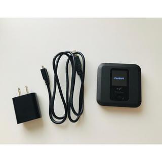 フジツウ(富士通)のポケットWi-Fi ルーター 富士ソフト +F  FS030W(PC周辺機器)