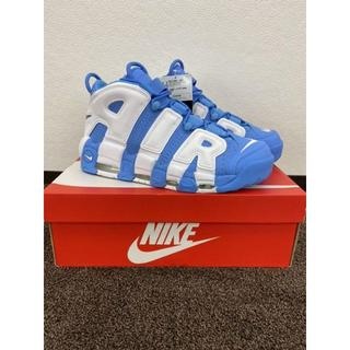 NIKE - 26cm NIKE air more uptempo ユニバーシティブルー
