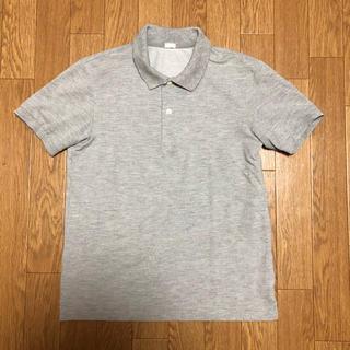 ジーユー(GU)のGU グレー 半袖ポロシャツ S(ポロシャツ)