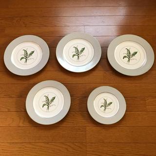 クリスチャンディオール(Christian Dior)のクリスチャンディオールの皿   すずらん(食器)
