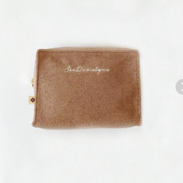 SeaRoomlynn(シールームリン)のシールームリン スクエア パイル SQUARE PILE ポーチ  レディースのファッション小物(ポーチ)の商品写真