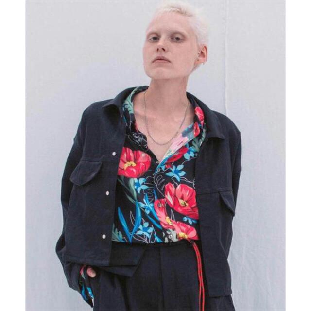 Jieda(ジエダ)のJieDa ジエダ FLOWER PATTERN L/S SHIRT メンズのトップス(シャツ)の商品写真