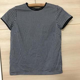 ロンハーマン(Ron Herman)のロンハーマン ギンガムチェック Tシャツ 半袖カットソー トップス(シャツ/ブラウス(半袖/袖なし))