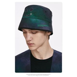 ザラ(ZARA)の412-1メンズ 両面着用 帽子 男女兼用 ストリート系 キャペリン帽 (ハット)