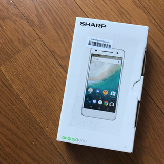 SHARP - androidone Y!mobile スマートフォン本体