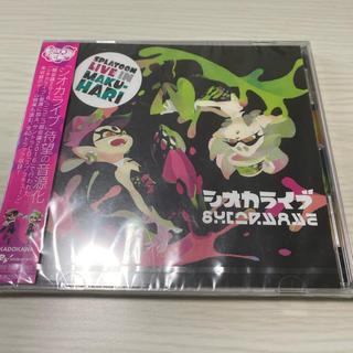 ニンテンドウ(任天堂)のスプラトゥーン シオカライブ CD(ゲーム音楽)