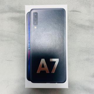 Galaxy - Garaxy A7 64GB SIMフリー ブラック 未開封