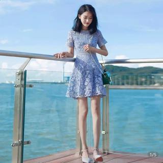 韓国ドレス ワンピース セルフポートレート風(ひざ丈ワンピース)