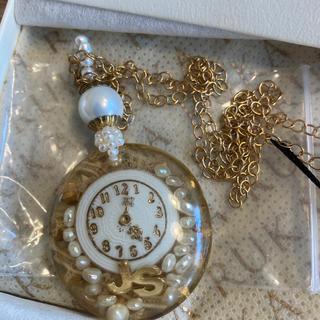ジルスチュアート(JILLSTUART)のRUKAコラボ 時計ネックレス(ネックレス)