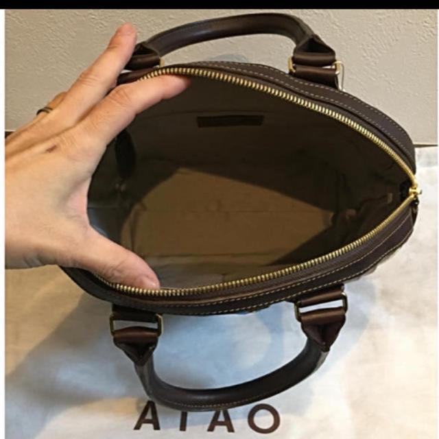 ATAO(アタオ)の新品!ATAO アップル ハンドバッグ♡未使用 レディースのバッグ(ハンドバッグ)の商品写真