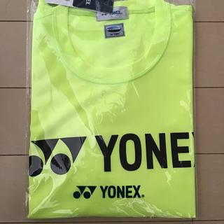 ヨネックス(YONEX)の【ジェリー様専用】ヨネックス ユニドライTシャツ シャインイエロー(ウェア)