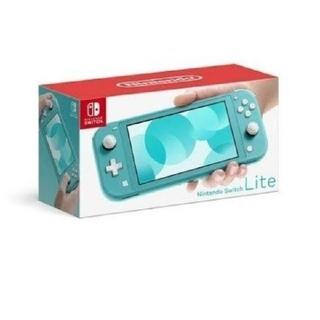 ニンテンドースイッチ(Nintendo Switch)のプレミアム様専用Switch LITEターコイズ&コーラルピンク(携帯用ゲーム機本体)