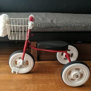 ムジルシリョウヒン(MUJI (無印良品))の無印良品 三輪車 赤 レッド(三輪車)