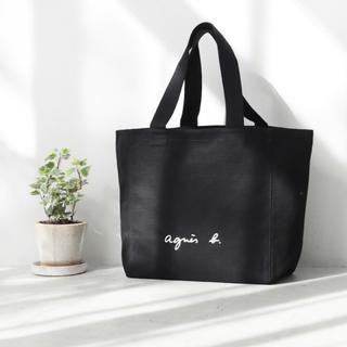 agnes b. - アニエスベー トートバッグ キャンバス ブラック 再入荷 並行輸入 即購入OK