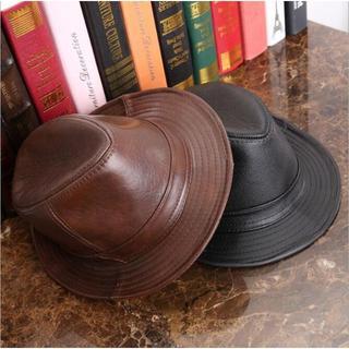 ザラ(ZARA)の409-1シンプルメルトン中折れハット メンズ 秋冬大きいサイズ帽子中折れハット(ハット)