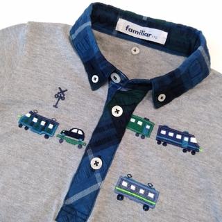 familiar - ファミリア 半袖 電車 シャツ 110 美品