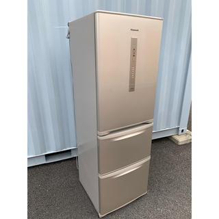 Panasonic - Panasonic 冷凍冷蔵庫 自動製氷付き エコナビ搭載 美品 365L