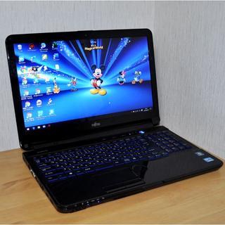 フジツウ(富士通)のS26/WEBカメラ/テレワークにZOOM/高速 i5/SSD/超美品(ノートPC)