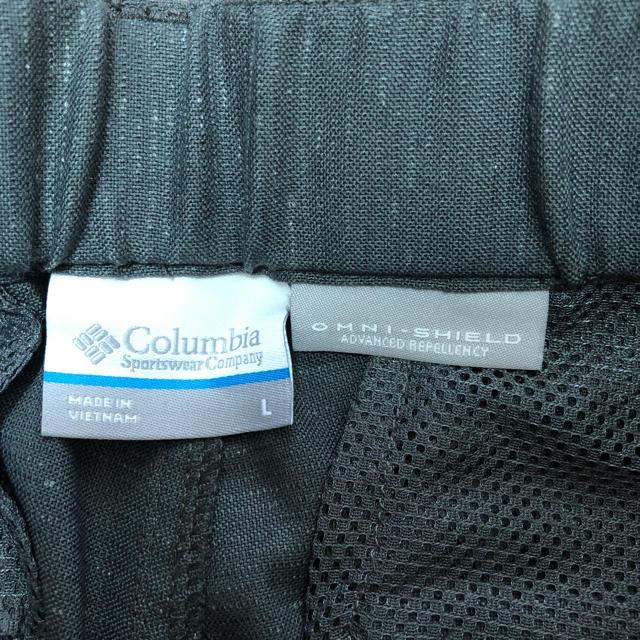 Columbia(コロンビア)の美品☆コロンビア/アウトドアショートパンツ/L/ストレッチ/グレー レディースのパンツ(ショートパンツ)の商品写真