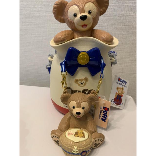 Disney(ディズニー)の新品未使用タグ付 ダッフィーポップコーンケース&キャンディケース エンタメ/ホビーのおもちゃ/ぬいぐるみ(キャラクターグッズ)の商品写真