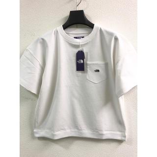 THE NORTH FACE - ノースフェイスパープルレーベル 新品 シロ WM号 レディースTシャツ