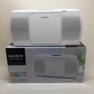 ソニー(SONY)のSONY CDラジオ ZS-E20CP(ポータブルプレーヤー)
