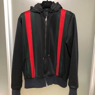 Gucci - GUCCI グッチ フード付きジャケット パーカー アウター ブルゾン