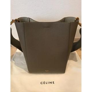 celine - CELINE セリーヌ サングル バケット スモール トープ