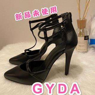 ジェイダ(GYDA)のGYDA ジェイダパンプスサンダル Mサイズ ブラック(サンダル)