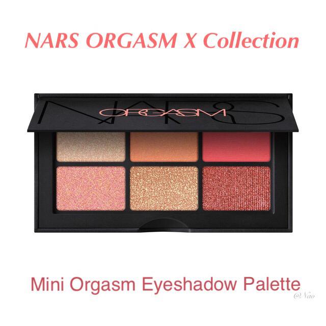 NARS(ナーズ)のNARS オーガズム ミニアイシャドーパレット Mini Orgasm  コスメ/美容のベースメイク/化粧品(アイシャドウ)の商品写真