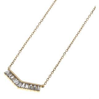 agete - BELLESIORA K18 ダイヤ ネックレス ¥160,000