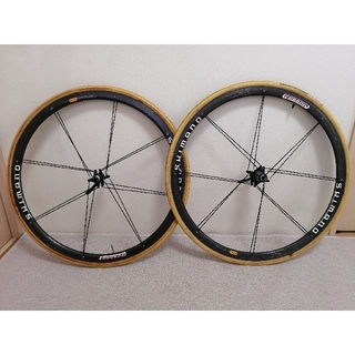 SHIMANO - シマノ カーボンホイール WH-7400 前後セット
