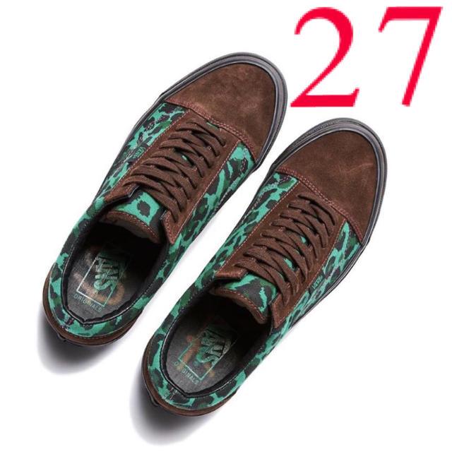 VANS(ヴァンズ)の【27㎝】 VANS VAULT × STRAY RATS オールドスクール メンズの靴/シューズ(スニーカー)の商品写真