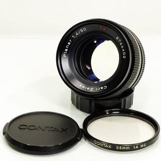 キョウセラ(京セラ)のCONTAX Planar 50mm F1.4 プラナー 単焦点(レンズ(単焦点))