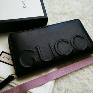 Gucci - 【美品】 GUCCI グッチ ラウンドファスナー 長財布