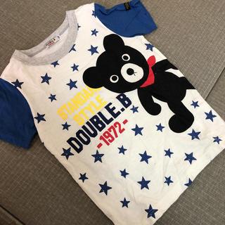 DOUBLE.B - 着用1回 ダブルビー メガビーくん Tシャツ 110 ミキハウス