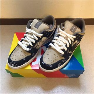 NIKE - TRAVIS SCOTT × NIKE SB DUNK LOW 27cm