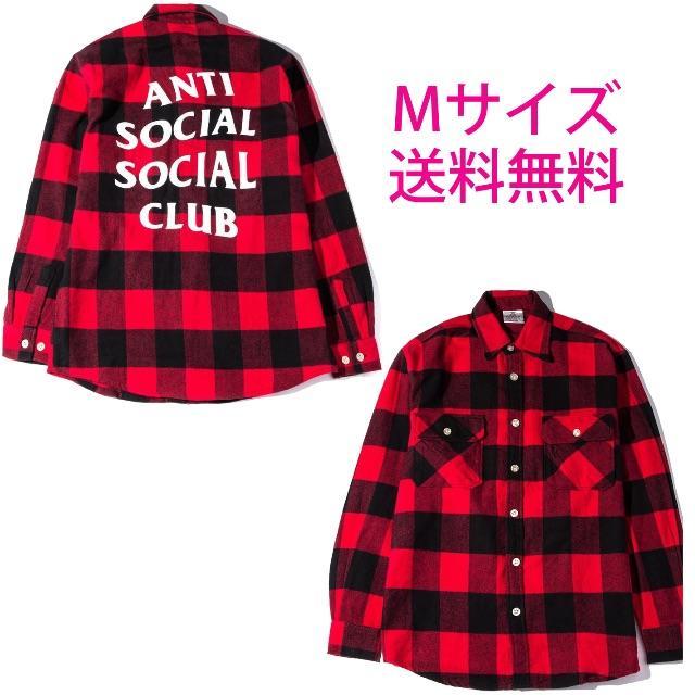 ANTI SOCIAL CLUB No Expectations Flannel メンズのトップス(シャツ)の商品写真