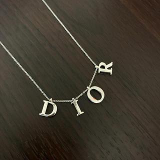クリスチャンディオール(Christian Dior)の《DIOR》ロゴネックレス(ネックレス)