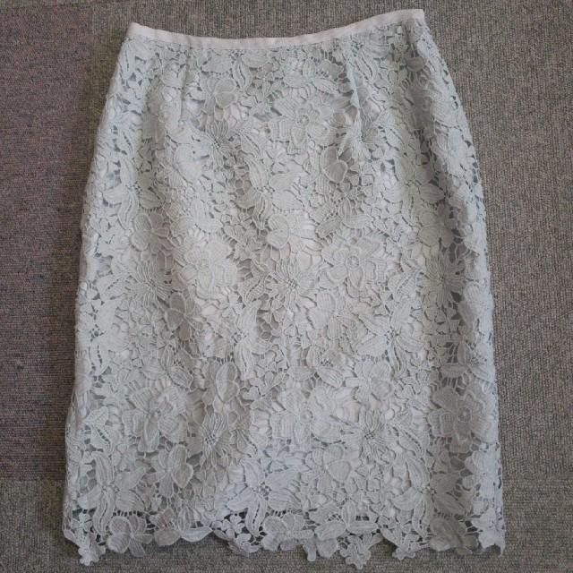 Apuweiser-riche(アプワイザーリッシェ)のレースタイトスカート❁ レディースのスカート(ひざ丈スカート)の商品写真